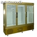 Refrigerated patisserie display - mod. tek/67 - anodized alumiium exterior -