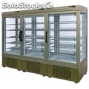 Refrigerated patisserie display - mod. tek/88 - anodized alumiium exterior -