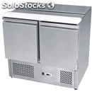 Refrigerated saladette tn prep table - stainless steel aisi 304 - mod. esl3800 -