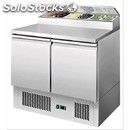 Refrigerated saladette tn prep table - stainless steel aisi 304 - mod. esl3832 -