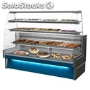 Refrigerated serve-over counter - back service application - suitable for bakery