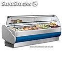 Refrigerated serve-over counter - mod. master - semi-ventilated cooling - bottom
