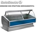 Refrigerated serve-over display counter - ideal for the display of cold cuts,