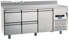 Refrigerated table 700 One Door Four Drawers