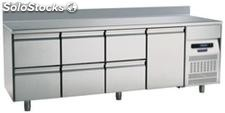 Refrigerated table 700 One Door Six Drawer