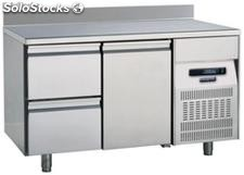 Refrigerated table 700 One Door Two Drawers