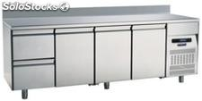 Refrigerated table 700 Three Doors Two Drawers