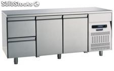 Refrigerated table 700 Two Doors Two Drawers
