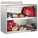 Refrigerated wall unit display - series: clipper - stainless steel frame -