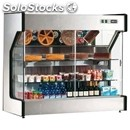 Refrigerated wall unit display - series: spioinox - stainless steel frame -