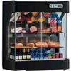 Refrigerated wooden wall unit display - series: spio - stainless steel interior