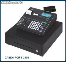 Registradora casio pcr t-2100