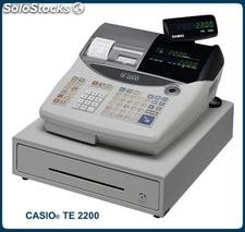 Registradora casio te 2200