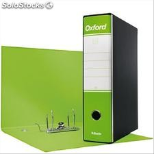 Registratori Oxford Esselte - protocollo - 8 cm - 23x33 cm - Verde Lime -