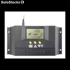 Regulador de carga solar348 30a/48v con display lcd