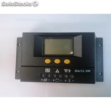 Regulador fotovoltaico solar30 30a/12-24v con display
