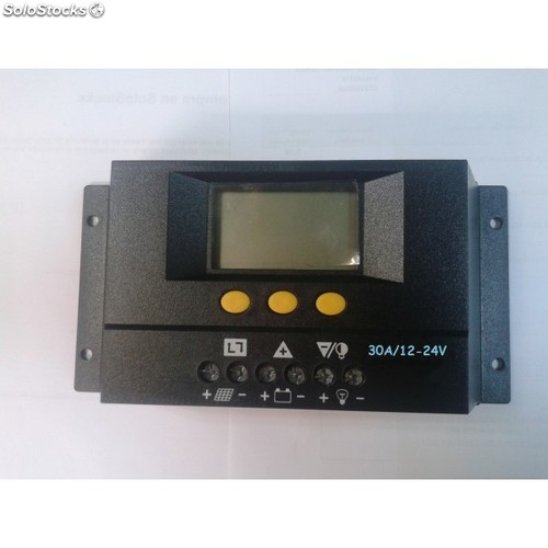 Regulador Fotovoltaico Solar30 30a 12 24v Con Display