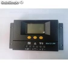 Regulador solar de carga solar30 30a/12-24v con display