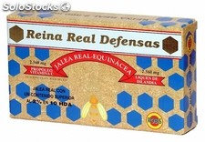 Reina real defensas robis 20 ampollas bebibles 2.560mg
