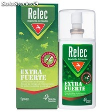 Relec Extra Fuerte Sensitive Spray Repelente de Insectos, 75ml