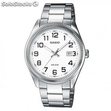 114e1a987dfb Reloj Casio Collection Hombre Plateado con números