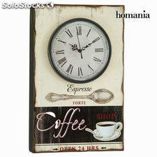 Reloj de pared beige by Homania