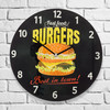 Reloj de Pared Burgers Oh My Home - Foto 1