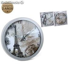 Reloj de pared cities 30.5 cm wall clock