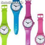 Reloj de pared coloured watch