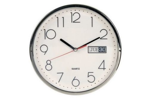 Reloj de pared de 30 cms con calendario ideal para - Relojes pared cocina ...