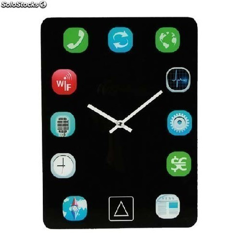 Reloj de pared dise o ipad - Reloj pared diseno ...