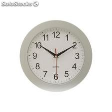 "Reloj de pared ""Easy time"" ,blanco, plateado"