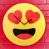 Reloj de Pared Emoticono Corazones - Foto 1