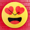 Reloj de Pared Emoticono Corazones Gadget and Gifts