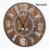 Reloj de pared forja abeto by homania