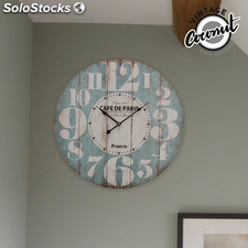 Reloj de Pared France Vintage Coconut, ideal para dar un toque nostálgico a la