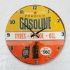 Reloj de pared gasoline