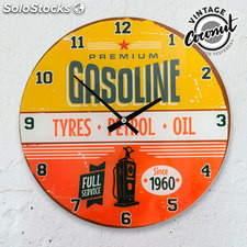 Reloj de Pared Gasoline Vintage Coconut