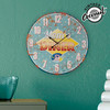 Reloj de Pared Mom's Diner Vintage Coconut