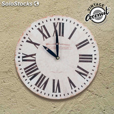 Reloj de Pared Remember Vintage Coconut
