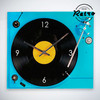 Reloj de Pared Retro Tocadiscos