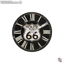 Reloj de pared Route 66