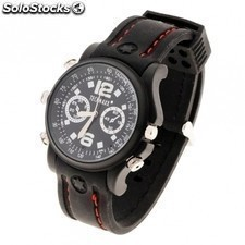 Reloj de pulsera technaxx actionmaster - graba video 640x480 / audio / foto