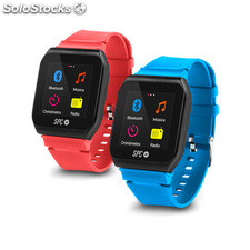 Reloj deportivo SPC 8564AP reproductor MP3 FM bluetooth dos correas