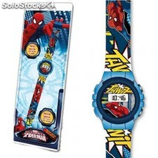 Reloj digital Spiderman