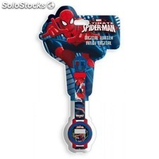 Reloj digital Spiderman blister