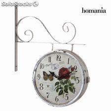 Reloj doble cara blanco by Homania