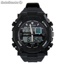 Reloj Dual Display Digital Watch / reloj del deporte (Negro