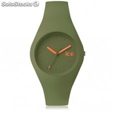 Reloj Ice Forest Hombre y Mujer Silicona Verde