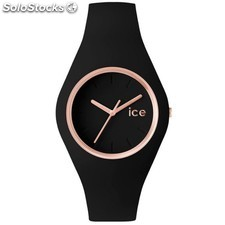 Reloj Ice Watch ice.gl.brg.s.s.14 Glam Black Rose-Gold Mujer